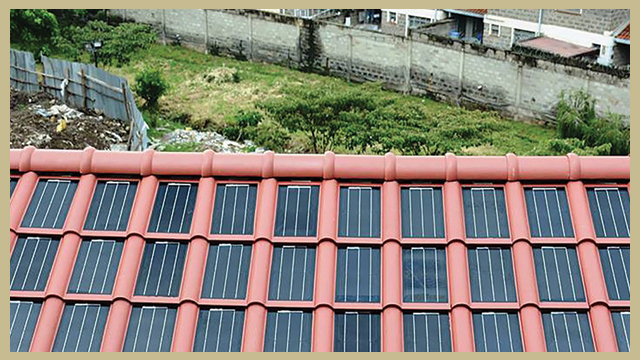genting panel surya