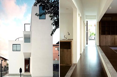 House K rancangan Hiroyuki Shinozaki Architects. Foto: © Kai Nakamura/www.dezeen.com