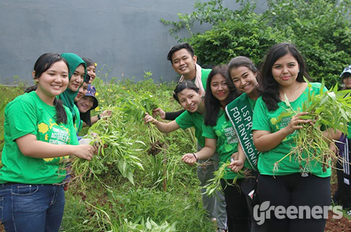 Gardening Class. Foto: LSPR 4C