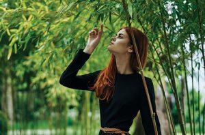 serat bambu