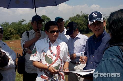 Deputi Bidang Pengelolaan B3, Limbah B3 dan Sampah KLHK, Ilham Malik. Foto: greeners.co/Danny Kosasih