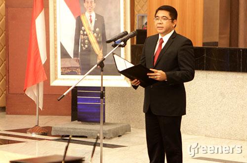 Kepala Badan Koordinasi Penanaman Modal (BKPM), Franky Sibarani. Foto: greeners.co/BKPM