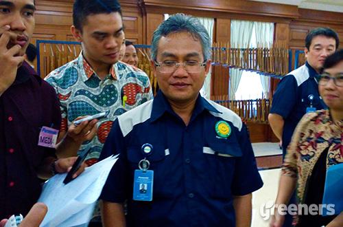 Associate Director PT Panasonic Gobel Energy Indonesia, Hantara. Foto: greeners.co/Danny Kosasih