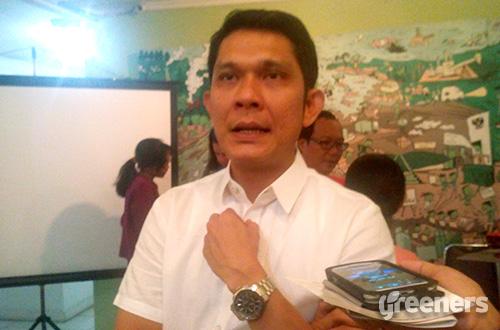Direktur Eksekutif Nasional Wahana Lingkungan Hidup Indonesia (Walhi), Abetnego Tarigan. Foto: greeners.co/Danny Kosasih