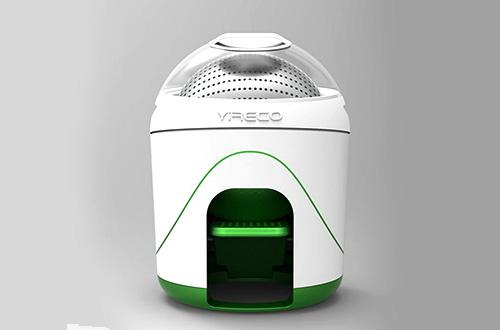 Drumi, mesin cuci tenaga kaki dari Yirego. Foto: inhabitat.com