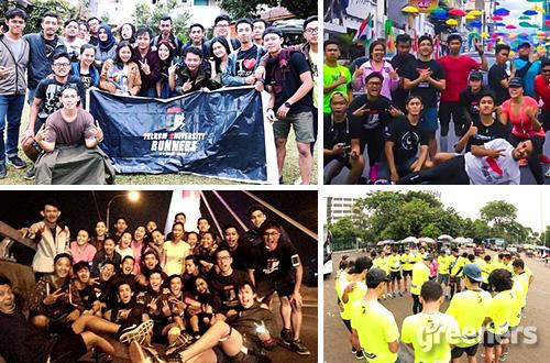 Telkom University Runners atau Tunners. Foto: dok. Tunners