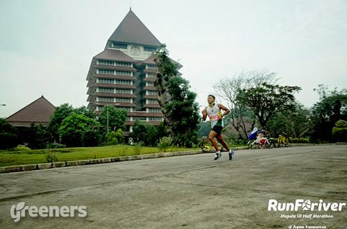 Runforiver 2015 akan dilaksanakan pada tanggal 6 September 2015 mendatang di Kompleks Universitas Indonesia (UI). Foto: dok. Runforiver Mapala UI