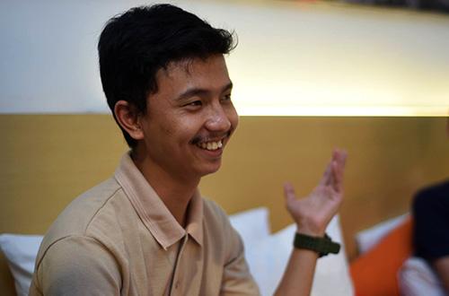 Salah satu peserta Ekspedisi Sumba 2015 dari Bandung, Saepul Hamdi. Foto: dok. Ekspedisi Sumba 2015