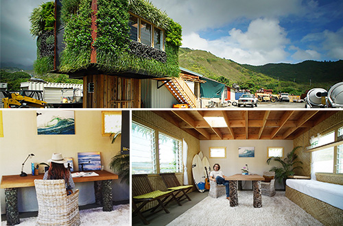Rumah ramah lingkungan karya Elevate Structure Inc. Foto: Cory Lum/www.inhabitat.com