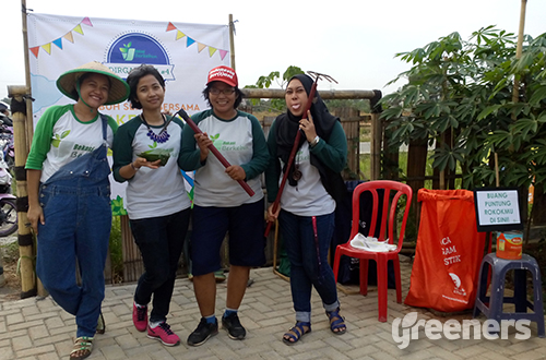 Ultah ke-4 Bekasi Bekebun. Foto: greeners.co/Danny Kosasih