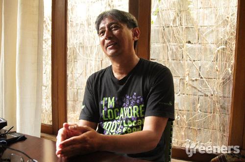 Tejo Wahyu Jatmiko, Koordinator Nasional Aliansi Untuk Desa Sejahtera. Foto: greeners.co/TW