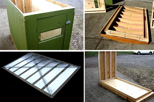 Warmpod dapat dirakit oleh satu orang. Struktur ini diperuntukkan bagi tunawisma namun dapat pula digunakan pada kondisi bencana alam. Foto: inhabitat.com