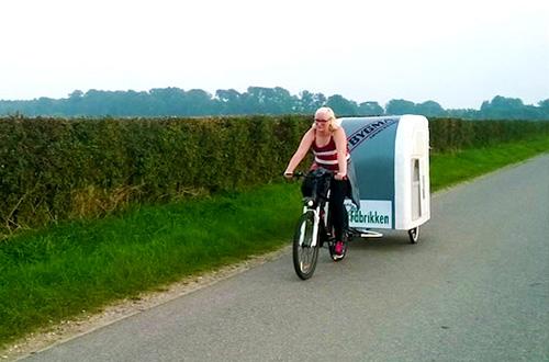 Wide Path Camper, karavan untuk pesepeda yang senang bertualang. Foto: Wide Path Camper/inhabitat.com