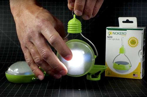 Lampu N233 produksi Nokero. Foto: Nokero/inhabitat.com