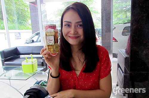 Yuni Nur Bahagia, pemilik Organik Unik. Foto: greeners.co/Teuku Wildan
