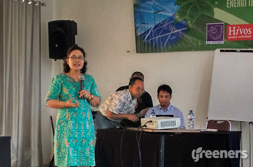 Direktur Aneka Energi Baru Terbarukan Kementerian ESDM, Maritje Hutapea. Foto: greeners.co/Danny Kosasih