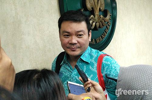 Kepala Badan Restorasi Gambut Nazir Foead. Foto: greeners.co/Danny Kosasih
