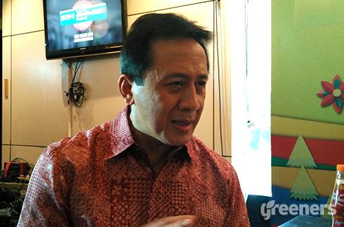 Ketua Badan Ekonomi Kreatif (Bekraf) Triawan Munaf. Foto: greeners.co/Danny Kosasih