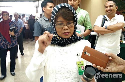 Direktur Jenderal Pengendalian Perubahan Iklim KLHK, Nur Masripatin. Foto: greeners.co/Danny Kosasih