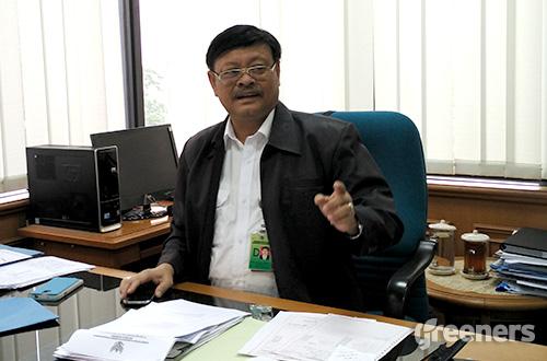 Direktur Konservasi Keanekaragaman Hayati Kementerian Lingkungan Hidup dan Kehutanan (KLHK) Bambang Dahono Adji. Foto: greeners.co/Danny Kosasih