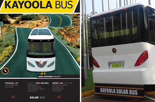 Bus Kayoola. Foto: Kiira Motors/Inhabitat.com