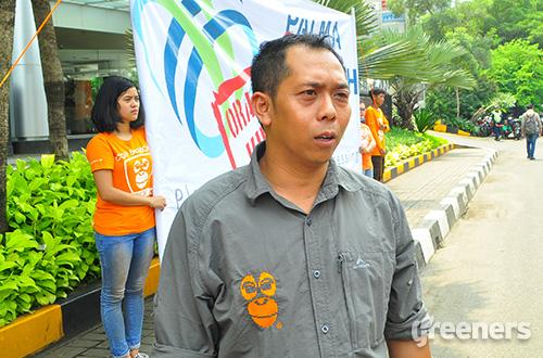 Direktur Centre for Orangutan Protection (COP) Ramadhani. Foto: greeners.co/Rayi Fahmi