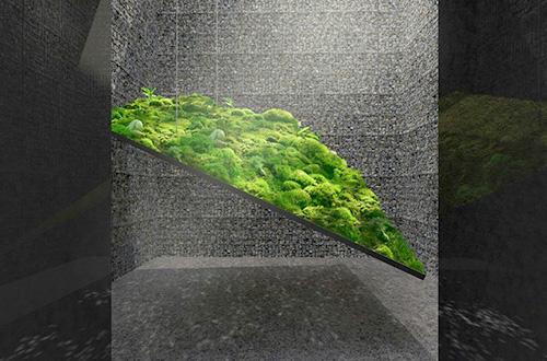 """""""Le caveau"""" dirancang oleh Christian Poules. Foto: Christian Poules/inhabitat.com"""