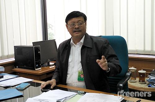 Direktur Konservasi Keanekaragaman Hayati (KKH) Kementerian Lingkungan Hidup dan Kehutanan (KLHK) Bambang Dahono Adji. Foto: greeners.co/Danny Kosasih