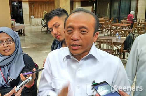Sekretaris Jendral Kementerian Lingkungan Hidup dan Kehutanan (KLHK) Bambang Hendroyono. Foto: greeners.co/Danny Kosasih