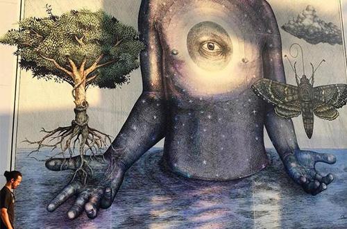 Lukisan Dinding Yang Menghubungkan Kembali Manusia Dengan Alam Greeners Co