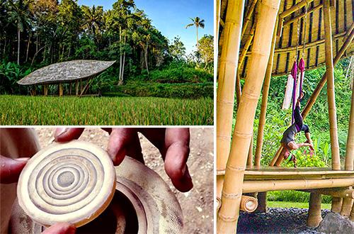 paviliun bambu