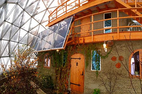rumah geodesik
