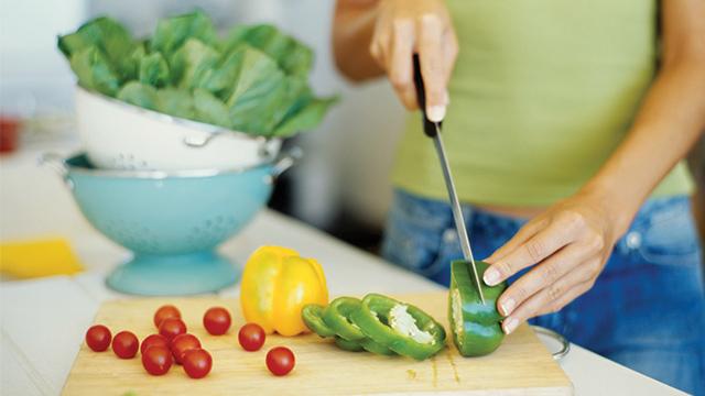 memasak di rumah