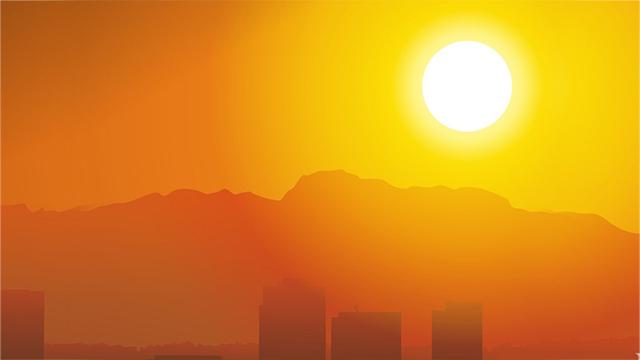cuaca panas