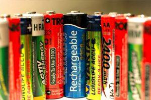 sampah baterai