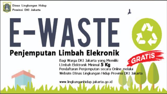 limbah elektronik milik warga