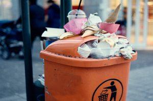 sampah pemudik