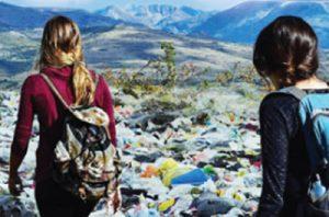 Buang Sampah Sembarangan di Gunung