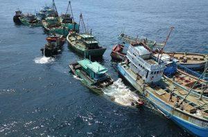 illegal fishing vessels