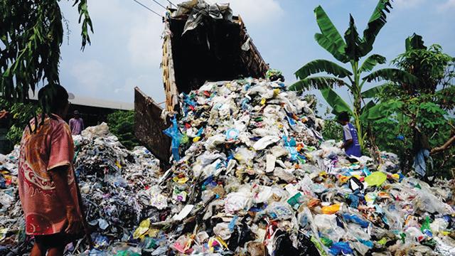 impor limbah plastik