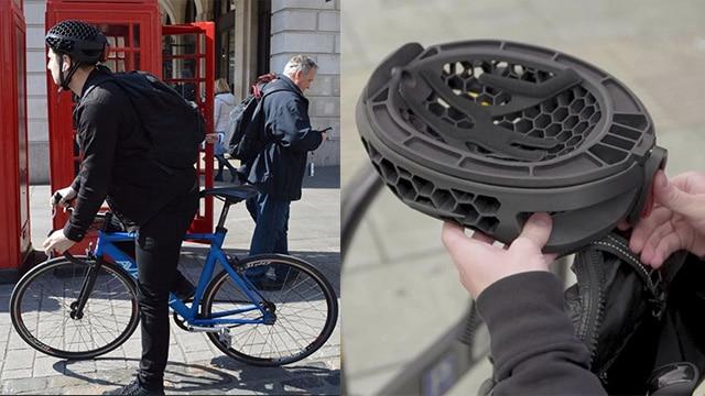 Cyclo, Helm Dapat Dikemas Terbuat Dari Daur Ulang Sampah Plastik