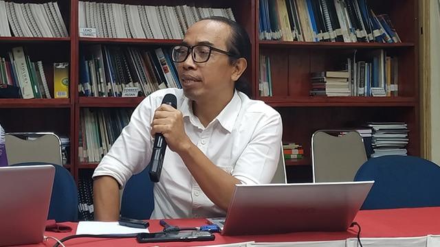 Direktur Eksekutif Komite Penghapusan Bensin Bertimbel (KPBB) Ahmad Safrudin. Foto : www.greeners.co/Dewi Purningsih