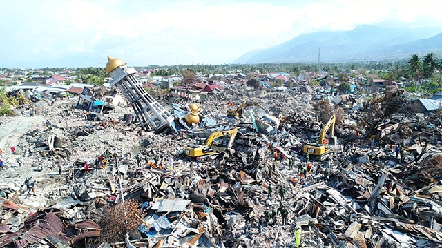 dampak gempa palu september 2018