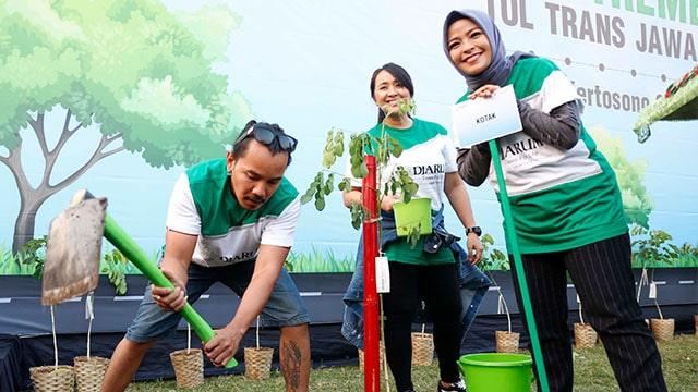Band Kotak, Ajak Kerabat Kotak Untuk Kurangi Plastik Sekali Pakai. Foto : Djarum Foundation