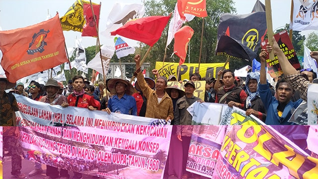 Hari Tani Nasional 2019, 4.000 Petani Bersatu Melawan Perampasan Tanah