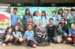 Komunitas Aspera, Peduli Reptil Asli Indonesia