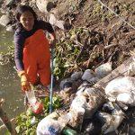 Sampah Popok Sekali Pakai Mencemari Sungai