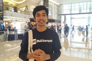 Chief Executive Officer & Co-Founder Mall Sampah Adi Saifullah Putra.