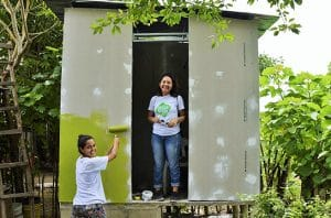 Toilet Tanpa Air untuk Hadapi Krisis Air Bersih dan Sanitasi di Kolombia by Tierra Grata