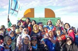 Wanita dan Gunung, Srikandi Gunung Indonesia